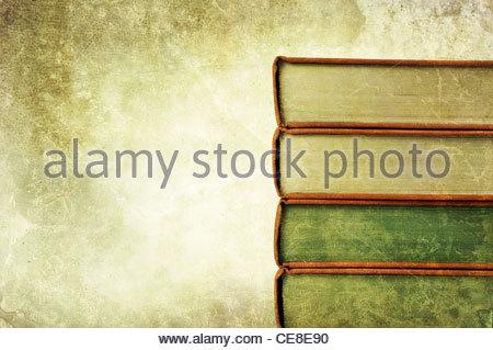 mucchio del libro vecchio Foto Stock