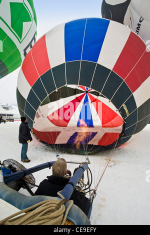 Balloons Festival Internazionale, Chateau d'Oex, Svizzera