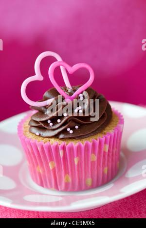 Tortina di San Valentino Foto Stock