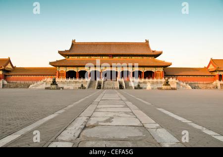 La Città Proibita (Palace Museum) a Pechino, Cina Foto Stock