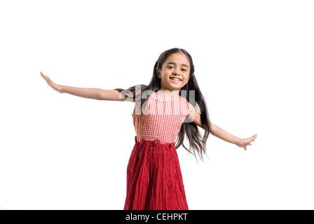 Giovane ragazza Foto Stock