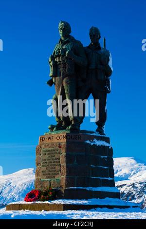Il Commando Memorial vicino a Spean Bridge nella Great Glen commemora il commandos che hanno addestrato nella zona Foto Stock