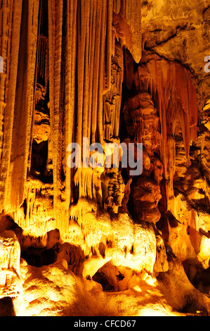 Grotte Cango vicino a Oudtshoorn, Western Cape, Sud Africa Foto Stock
