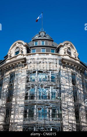 Francia, Parigi, Ministero della Cultura e della comunicazione dagli architetti Francesco Soler e Frédéric Druot Foto Stock