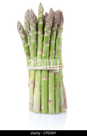 Mazzo di asparagi Foto Stock