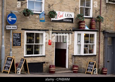 Viste della città Wincanton in somerset England Regno Unito. Foto Stock