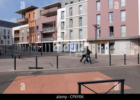 Francia, Loire Atlantique, Nantes, urbanistica Rue Foure