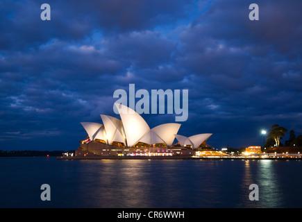 La Opera House di Sydney, Australia Foto Stock