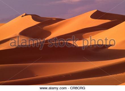 Khongoryn dune di sabbia, Gobi Gurvansaikhan National Park, Mongolia Foto Stock