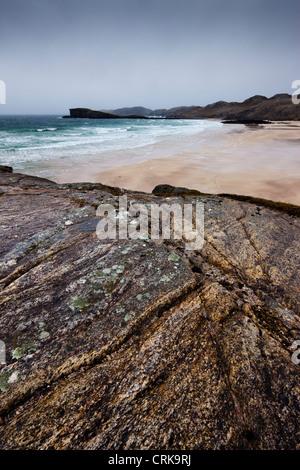 Oldshoremore Beach, Sutherland, Scozia Foto Stock