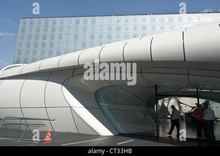 Institut du Monde Arabe, dettaglio Foto Stock