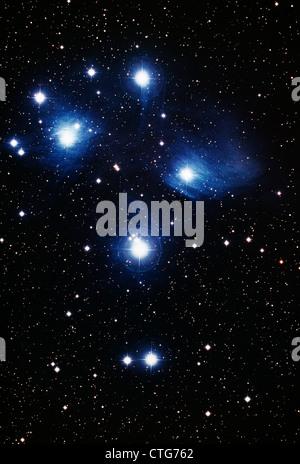 AMERICA DEL NORD NEBULA IN CYGNUS prese dal telescopio astronomia appare come stelle lucenti nel cielo notturno Foto Stock