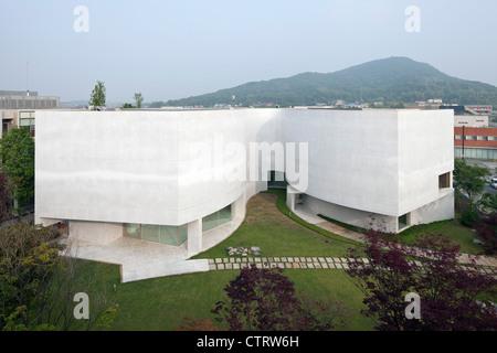 La mimesi Museum, PAJU PRENOTA CITY, Corea del Sud, 2010 Foto Stock