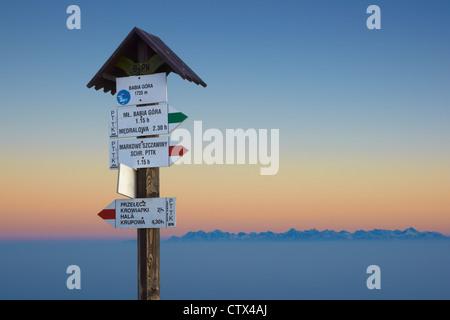 Babia Gora National Park, Polonia, Europa Foto Stock