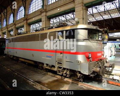 SNCF 116029 En viaggio da qualche parte in Francia. Foto Stock