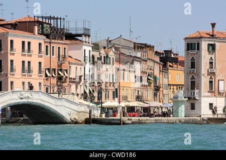Via Giuseppe Garibaldi, Castello, Venezia Foto Stock
