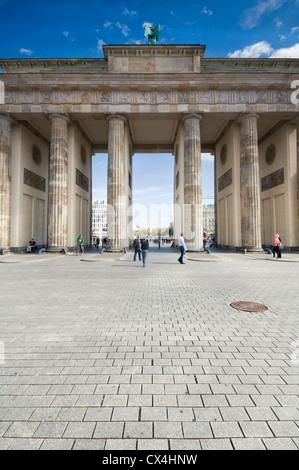 La Porta di Brandeburgo a Berlino, Germania