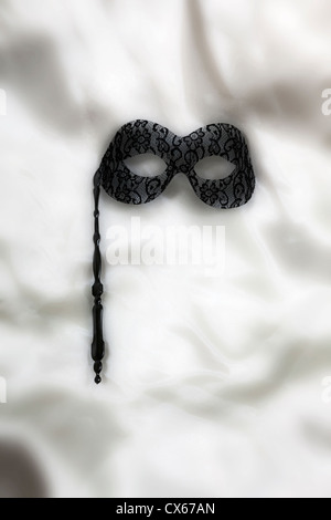una maschera veneziana Foto Stock