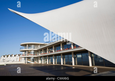 De La Warr Pavilion, Bexhill-on-Sea, East Sussex, England, Regno Unito, Europa Foto Stock
