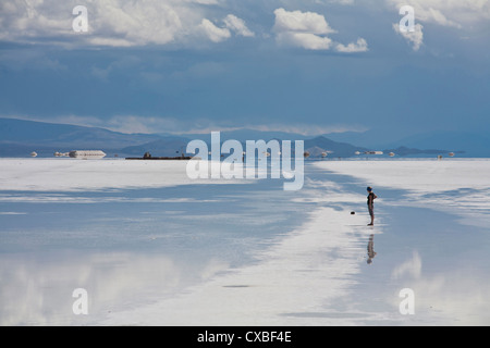 Salinas Grandes, provincia di Jujuy, Argentina. Foto Stock