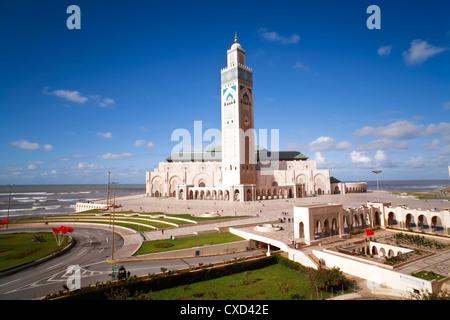 Moschea Hassan II, il terzo più grande moschea del mondo, Casablanca, Marocco, Africa Settentrionale, Africa