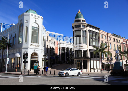 Rodeo Drive, Beverly Hills, Los Angeles, California, Stati Uniti d'America