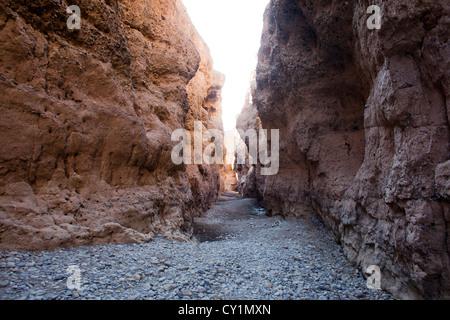 Sesriem valle nel Parco Namib-Naukluft, Namibia Foto Stock