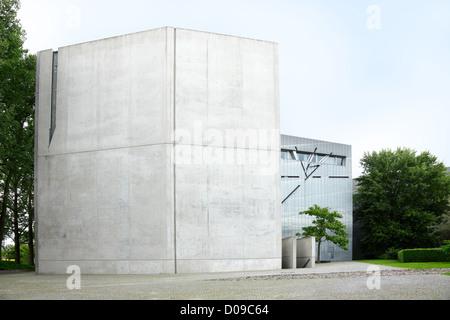 Museo Ebraico di Berlino progettato da Daniel Libeskind Foto Stock