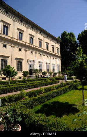 Italia, Roma, a trastevere, Villa Farnesina (villa Chigi), giardino rinascimentale Foto Stock