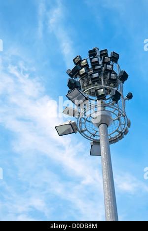 Spot-torre faro Foto Stock