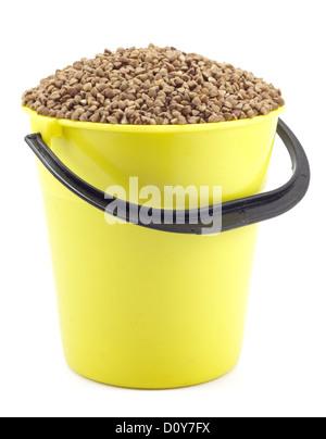 Benna di giallo con il grano saraceno Foto Stock