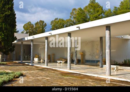 Museo archeologico di Olimpia antica in Grecia Foto Stock