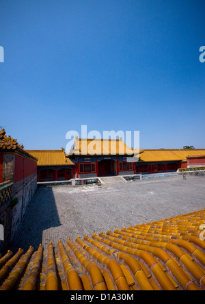 La città proibita a Pechino, Cina Foto Stock