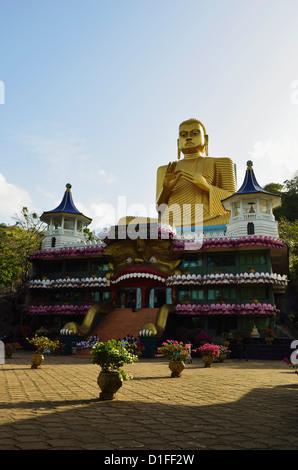 Tempio d'oro, Dambulla, Sri Lanka, Asia Foto Stock
