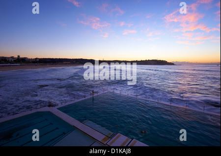 Bondi iceberg, Sydney, Nuovo Galles del Sud Australia Foto Stock