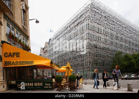 Ministero della cultura e della comunicazione, Ministere de la culture et de la communication, Parigi, Francia, Europa Foto Stock