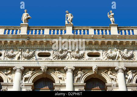 Biblioteca Nazionale Marciana (Biblioteca Marciana) Piazza San Marco a Venezia Foto Stock