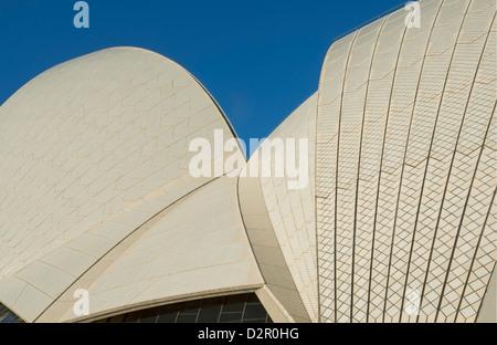 Opera House, Sito Patrimonio Mondiale dell'UNESCO, Sydney, Nuovo Galles del Sud, Australia Pacific Foto Stock