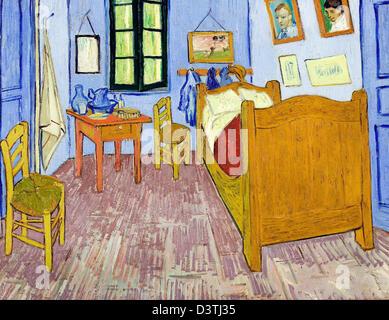 Camera da letto di arles di vincent van gogh 1889 foto immagine stock 62034746 alamy - Camera da letto van gogh ...