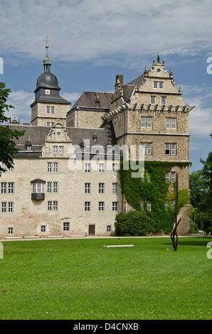 Il Castello di Wolfsburg, Bassa Sassonia, Germania