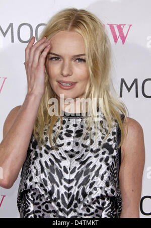 Noi attrice Kate Bosworth arriva presso il Museo di Arte Contemporanea?s (MOCA) trentesimo anniversario Gala al Foto Stock
