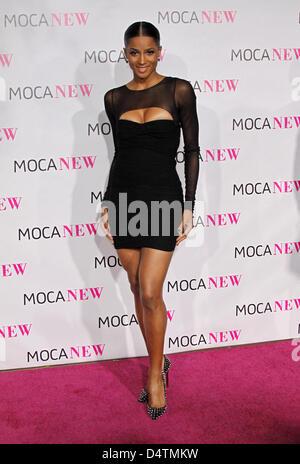 Cantante statunitense Ciara arriva presso il Museo di Arte Contemporanea?s (MOCA) trentesimo anniversario Gala al Foto Stock