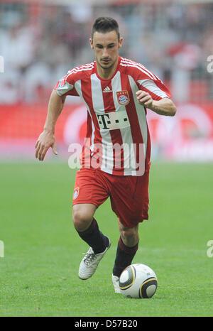 Monaco di Baviera Diego è contento durante il match della Bundesliga Bayern Monaco di Baviera vs VfL Bochum a Allianz Foto Stock