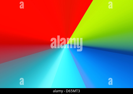 Brillante background astratto Foto Stock