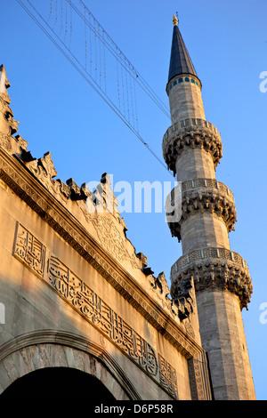 La Yeni Camii (Nuova Moschea), Istanbul, Turchia, Europa Eurasia Foto Stock