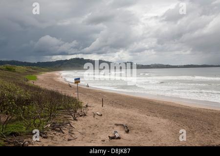 Playa Hermosa, Guanacaste in Costa Rica Foto Stock
