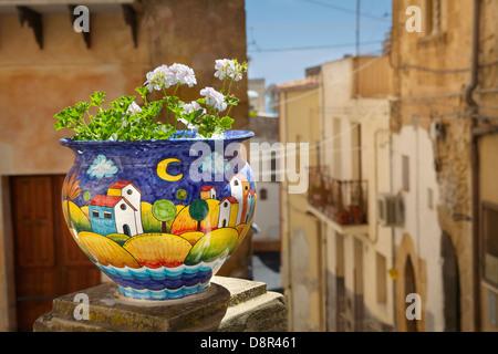 Ceramiche siciliane decorazione d arte centro storico di taormina