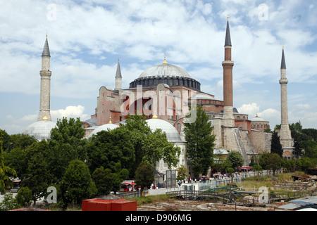 HAGIA SOPHIA MOSQUE Aya Sofya Istanbul Turchia 23 Maggio 2012 Foto Stock