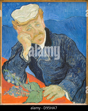 Vincent van Gogh le Docteur Gachet 1890 secolo XIX scuola olandese Olio su tela Parigi - Il Museo d' Orsay Foto Stock