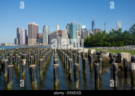 Ponte di Brooklyn Park NYC